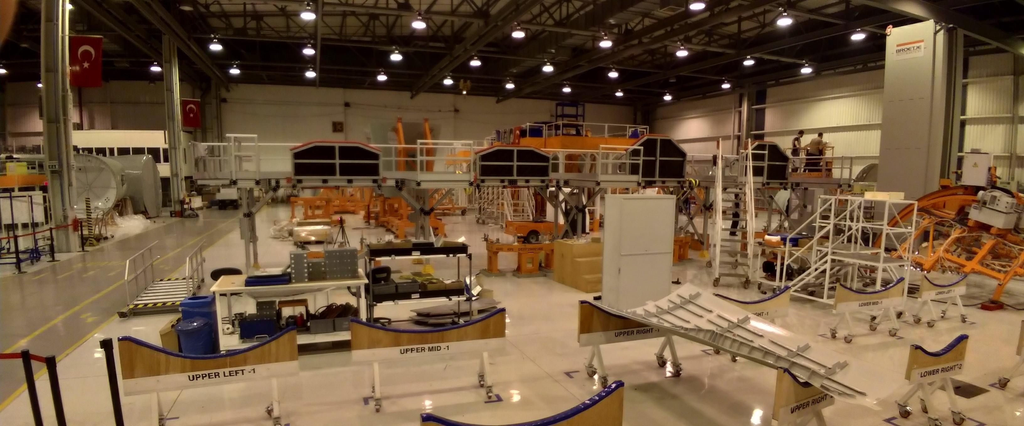 Airbus Half Barrel Platform